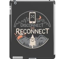 Disconnect and Reconnect iPad Case/Skin
