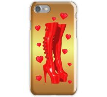Love in Boots iPhone Case/Skin