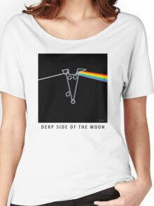Derp Side of the Moon Women's Relaxed Fit T-Shirt