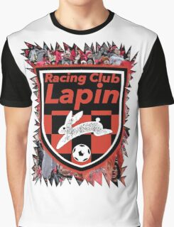 Racing Club Lapin - Jagged Sports Badge Graphic T-Shirt