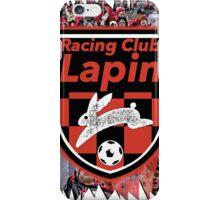 Racing Club Lapin - Jagged Sports Badge iPhone Case/Skin