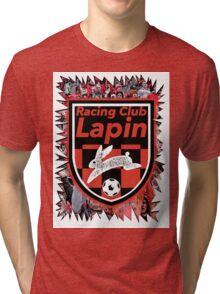 Racing Club Lapin - Jagged Sports Badge Tri-blend T-Shirt