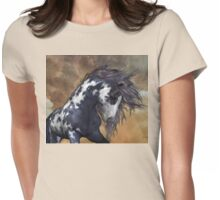 Storm .. Wild Stallion Womens Fitted T-Shirt