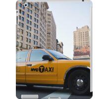 New York taxi iPad Case/Skin