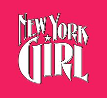 New York Girl B&W Womens Fitted T-Shirt