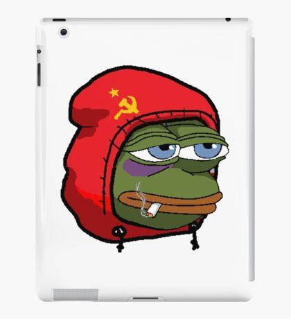 Soviet pepe iPad Case/Skin