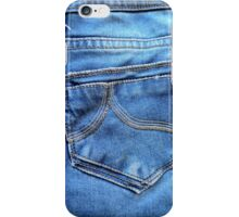 Jeans printed designer I-phone device – case by Marijke Verkerk Design iPhone Case/Skin