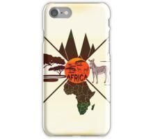 Travel to Africa iPhone Case/Skin