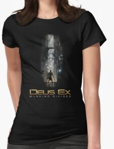 Deus Ex Mankind Divided Womens Fitted T-Shirt