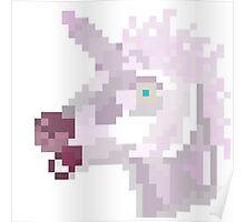Beware the unicorn! Poster