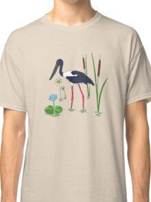JABIRU - Black-Necked Stork Classic T-Shirt