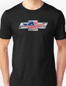 Chevrolet - USA Flag T-Shirt