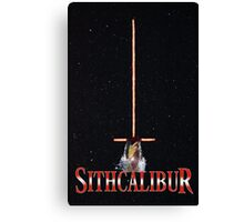 Sithcalibur Canvas Print