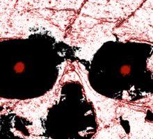 Evil Skull Sticker