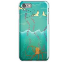 Into the deep ocean iPhone Case/Skin