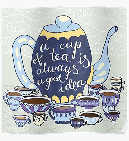 A Cup Of Tea Poster