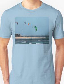 Kite Surfing @ Nobby's T-Shirt