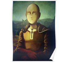 """Saitama Mona Lisa One Punch Man"" Poster"