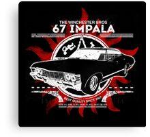 67 Impala  Canvas Print