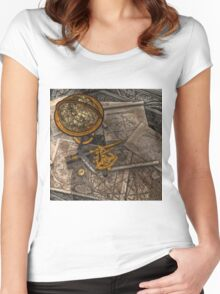 Old World Travel  Women's Fitted Scoop T-Shirt