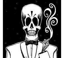 Manny Calavera (Stack's Skull Sunday) Photographic Print