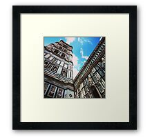 Giotto Tower Framed Print