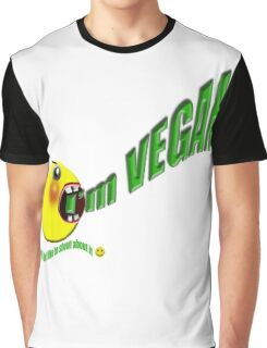 I'm vegan , but I don't like to shout about it Graphic T-Shirt