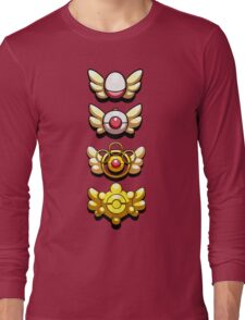 All Mystery Dungeon Badges Long Sleeve T-Shirt
