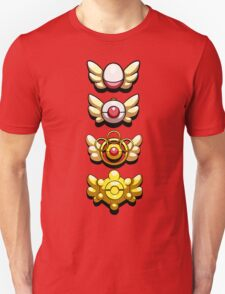 All Mystery Dungeon Badges T-Shirt
