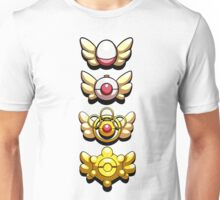 All Mystery Dungeon Badges Unisex T-Shirt