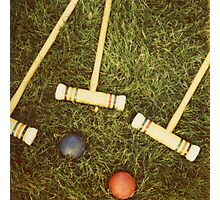 Croquet Photographic Print