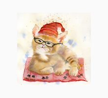 Cat Watercolor Nursery Art Unisex T-Shirt
