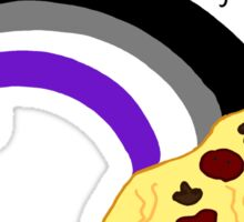 my sexuality is pizza Sticker