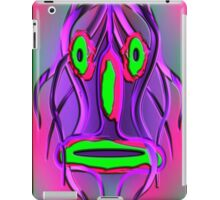 Mask psychedelic iPad Case/Skin