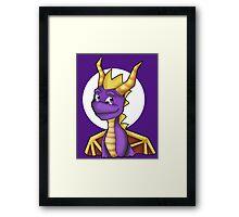 Spyro- Bust Framed Print