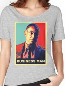 "Breaking Bad: Gus Fring ""Business Man"" Women's Relaxed Fit T-Shirt"