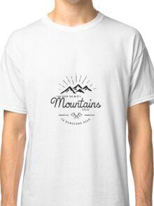 mountains transparent Classic T-Shirt