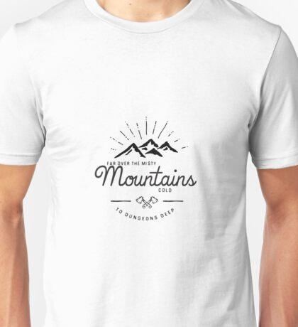 mountains transparent Unisex T-Shirt