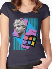 Vaporwave ! Women's Fitted Scoop T-Shirt
