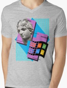 Vaporwave ! Mens V-Neck T-Shirt