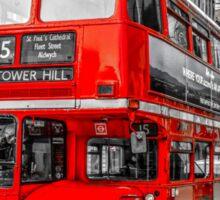 London Tower Hill Sticker