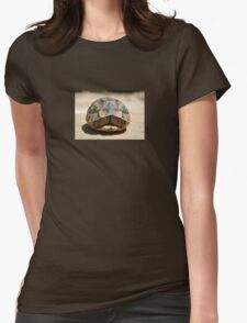 Tortoise Hiding In Its Shell  Womens Fitted T-Shirt