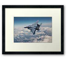 F15-E  Strike Eagle Framed Print