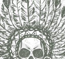 Native American Indian chief headdress Sticker