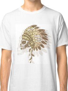 Native American Indian chief headdress Classic T-Shirt