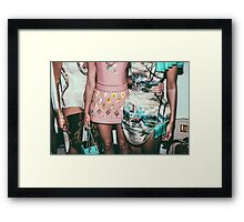 "London Fashion Week ""Hips"" Framed Print"
