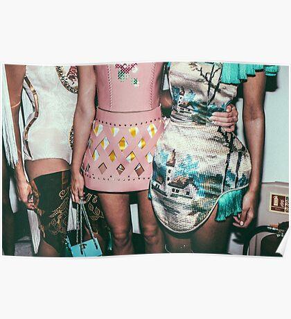 """London Fashion Week """"Hips"""" Poster"""