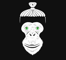 Green Eyed Manbun Monkey Unisex T-Shirt