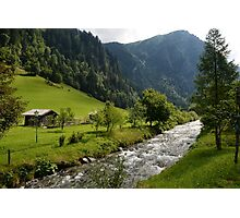 Bad Gastein Stream Photographic Print