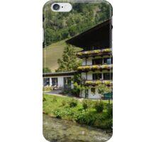 Cottages in Gruner Baum iPhone Case/Skin